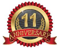 11th Anniversary Seal